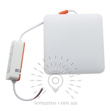 LED панель Lemanso 18W 1620LM 6500K 85-265V IP20 / LM1079
