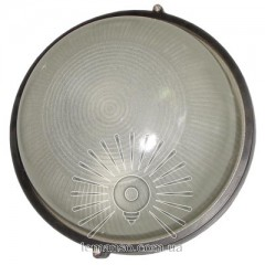 Светильник LEMANSO круг метал. 60W без реш. BL-1301 черный