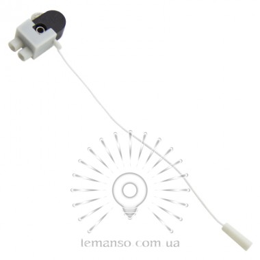 Выключатель Lemanso со шнурком черный LMA3317 (продается кратно 20 шт) описание, отзывы, характеристики
