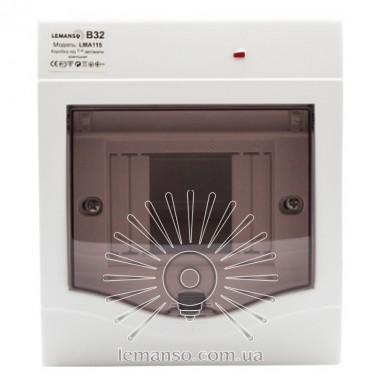 Коробка под 2-4 автоматы LEMANSO накладная, ABS, индикатор / LMA115 описание, отзывы, характеристики