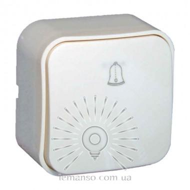 Кнопка звонка накладная LEMANSO Нота белая  LMR2312 описание, отзывы, характеристики