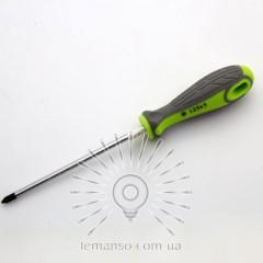 Отвертка LEMANSO PH1x125 LTL40004 серо-зелёная