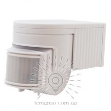 Датчик движения LEMANSO LM6322 180° белый