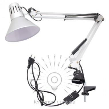 Настольная лампа Lemanso 20Вт, для лед ламп E27 LMN093 серебро описание, отзывы, характеристики