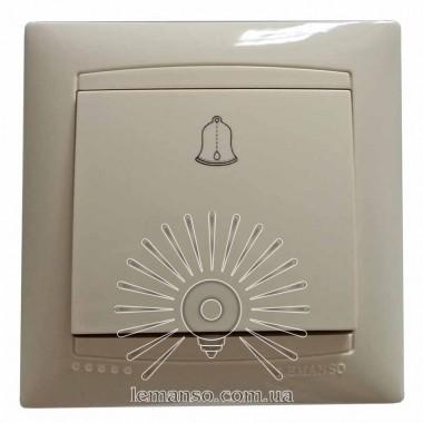 Кнопка звонка LEMANSO Сакура крем LMR1110 описание, отзывы, характеристики