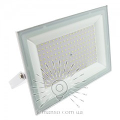 Прожектор LED 100w 6500K IP65 6700LM LEMANSO белый / LMP33-100