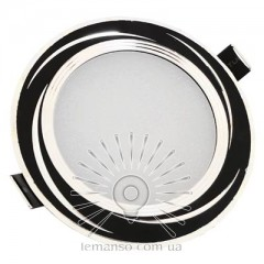 LED панель Lemanso 9W 720LM 4500K чёрный/ LM490