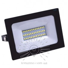 Прожектор LED 200w 6500K IP65 14000LM 100-240V LEMANSO чёрный/ LMP27