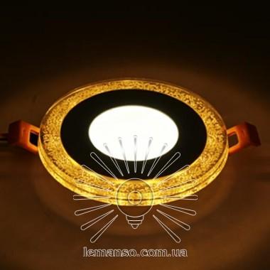 LED панель Lemanso 3+3W с жёлтой подсветкой 350Lm 4500K 175-265V / LM1 описание, отзывы, характеристики