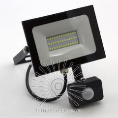 Прожектор LED 30w 6500K 2400LM LEMANSO 175-265V с датчиком / LMPS37