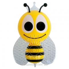 Ночник Lemanso Пчёлка 4 LED*RGB с сенсором жёлтая / NL13