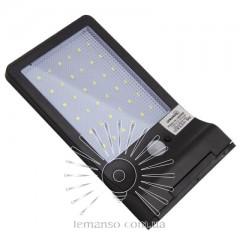 Подсветка для стены LED Lemanso 7,5W 330LM IP65 6500K с д/движения и солн. батареей / LM33008 с аккум.