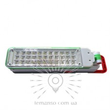 Accumulator lamp Lemanso 33LED 110-240V 3528SMD 160Lm 6500K / LMB16