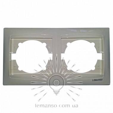 Рамка 2-я LEMANSO Сакура крем вертикальная LMR1132 описание, отзывы, характеристики