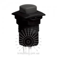 Кнопка Lemanso LSW12 квадрат чёрная с фикс. ON-OFF/ DS-226