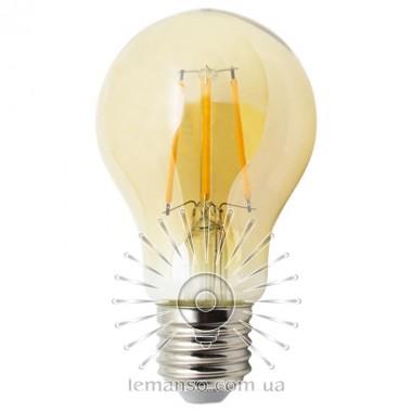 Лампа Эдисона Lemanso св-ая 6W A60 E27 480LM 2200K 220-240V, золотая / LM3801 описание, отзывы, характеристики