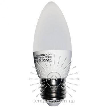 Light bulb Lemanso LED C37 E27 4,2W 380LM 4500K matte / LM322