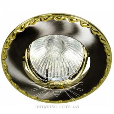 Спот Lemanso DL82 чёрный (графит) - золото MR16  /125 описание, отзывы, характеристики