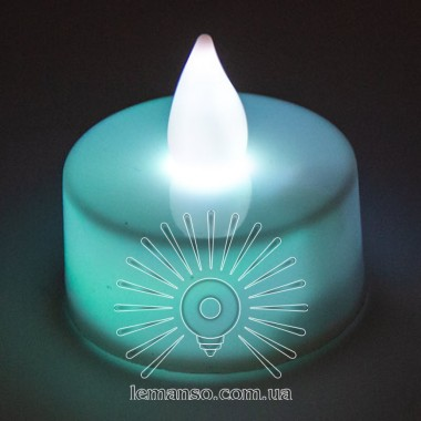 Свеча LED Lemanso 37*40мм 1xСR2032 IP20 / LM36011 с выкл. 24шт/упак 7 цветов свечения в 1 описание, отзывы, характеристики