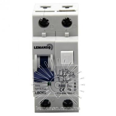 Диф. автомат Lemanso 6.0KA 1п+н 32A 30mA RCBO LBO60 описание, отзывы, характеристики