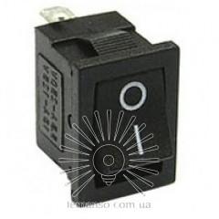 Переключатель  Lemanso  LSW17 малый чёрный 3 полож.без фикс./ KCD1-123-2