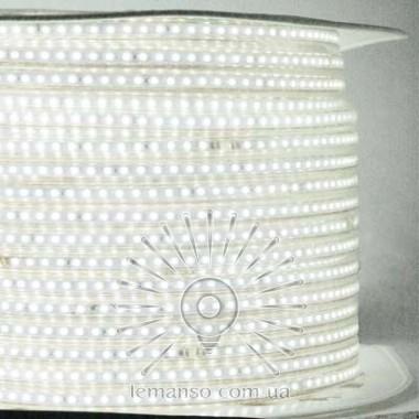 Дюралайт-лента LEMANSO 120LED IP68 белая 2835SMD 230V 10W/м 720LM / LM описание, отзывы, характеристики