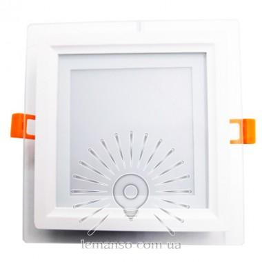 LED панель Lemanso 12W 540LM 4500K 85-265V квадрат / LM1035 + стекло Монтана описание, отзывы, характеристики