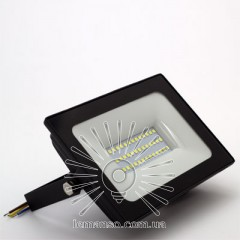 Прожектор LED 50w 6500K IP65 3000LM LEMANSO чёрный/ LMP9-54