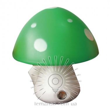 Ночник Lemanso Гриб 3 LED 6500K с сенсором зелёный / NL16 описание, отзывы, характеристики