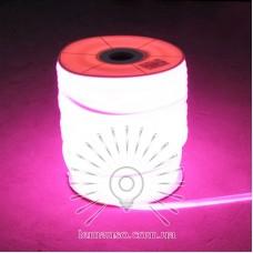 Неон LEMANSO 360град. 120LED 6W/м IP65 рожевий 2835SMD 220V 2160LM / LM860