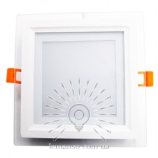 LED панель Lemanso 12W 540LM 4500K 85-265V квадрат / LM1035 + стекло Монтана