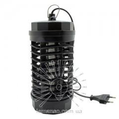 Светильник от комаров T5 4W G5 220-240V Lemanso LM3065 черный 115x115x225мм