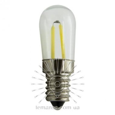 Лампа Lemanso св-ая 1,5W T20 E14 120LM 6500K 230V прозрачная / LM3084 для холодильника описание, отзывы, характеристики