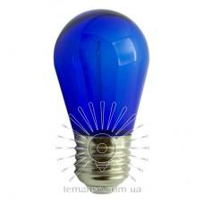 Лампа Lemanso св-ая 1W S14 E27 230V синяя / LM3078