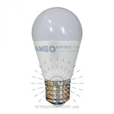 Лампа Lemanso св-ая 7W G45M E27 640LM 6500K 175-265V / LM299 описание, отзывы, характеристики