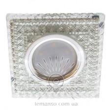 Спот Lemanso ST6330 прозрачный MR16 + подсветка 3W 6500K с драйвером