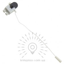 Выключатель Lemanso со шнурком черный LMA3316 (продается кратно 20 шт)