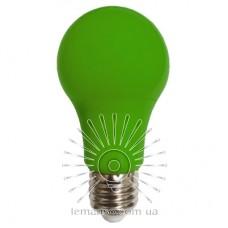 Лампа Lemanso св-ая 7W A60 E27 175-265V зелёная / LM3086
