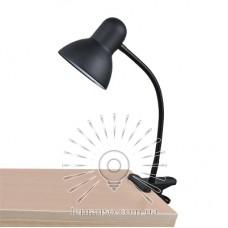 Настольная лампа Lemanso 60W E27 LMN097 чёрная прищепка