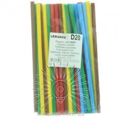 Стержни клеевые цветные Lemanso 7х200мм, упак.20шт.(цена за упак.) LTL14027