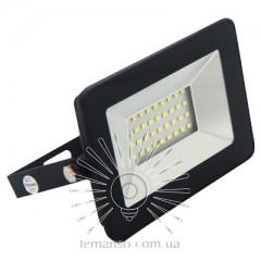 Прожектор LED 30w 2400LM зелёный IP65 LEMANSO / LMP37-30 для подсветки газонов (чёрный корпус)