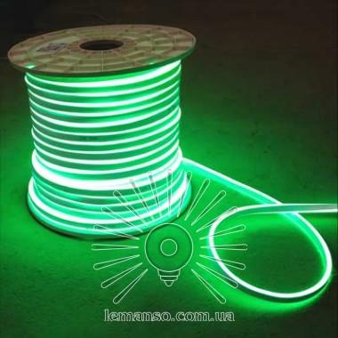 Неон LEMANSO 240град. 120LED 6W/м IP65 зелёный 2835SMD 220V 2160LM / LM858