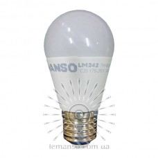 Light bulb Lemanso LED 7W G45M E27 640LM 6500K 175-265V / LM299