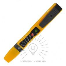 Отвертка - индикатор напряжения 80-500V LEMANSO 3.0x140мм бат. 1,5V   LTL10070