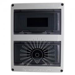 Коробка IP65, под 24 автоматы LEMANSO внутренняя, пластик / LMA7406