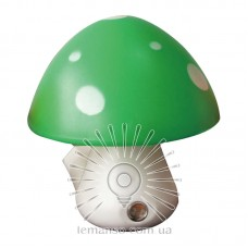 Night light Lemanso Mushroom 3 LED 6500K with sensor green / NL16