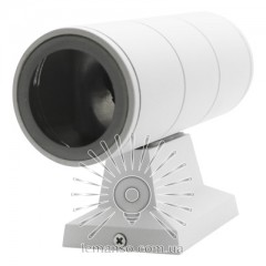 Подсветка для стены Lemanso 2*MR16 макс.15Вт (только LED) IP65 белая, 1м кабеля/ LM1103