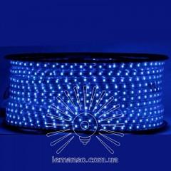 Дюралайт-лента LEMANSO 60LED IP65 синяя 230V 5W/м 360LM / LM588