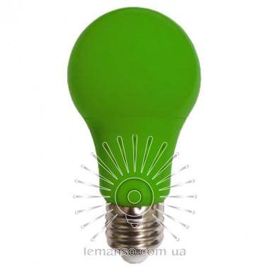 Лампа Lemanso св-ая 7W A60 E27 175-265V зелёная / LM3086 описание, отзывы, характеристики