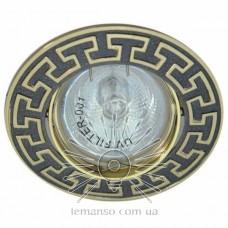 Спот Lemanso DL2008 черный металлик-золото MR16